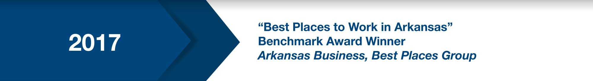 """Best Place to Work in Arkansas"" (2017)"