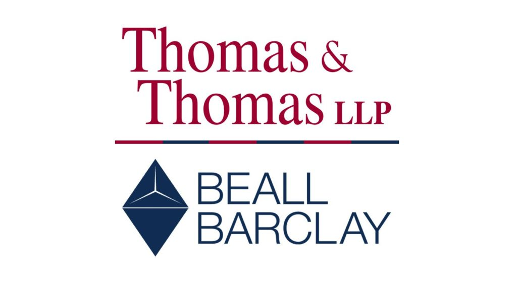 Beall Barclay and Thomas & Thomas Merger