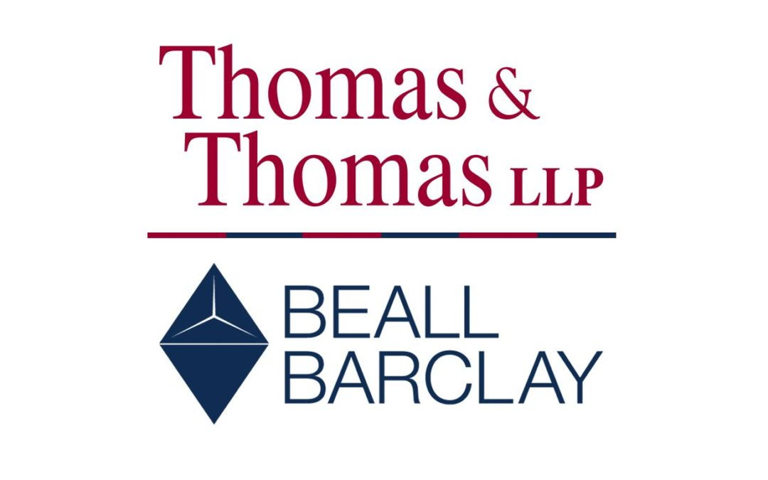 Thomas & Thomas and Beall Barclay & Company to Merge