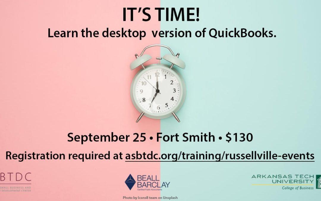Join us for a QuickBooks Desktop Workshop