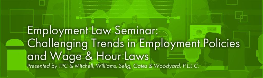 Employment Law Seminar Image