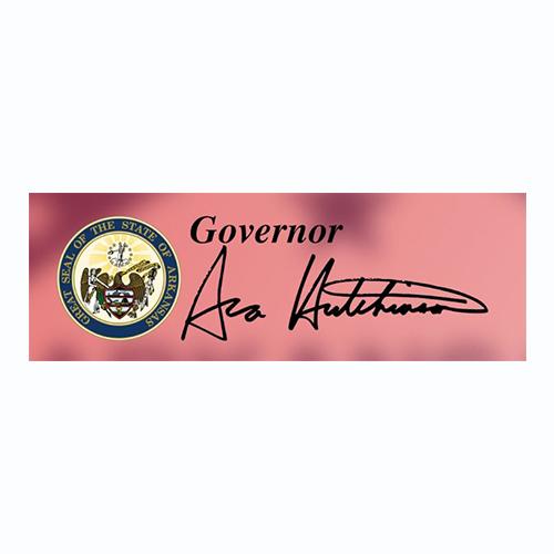 Arkansas Governor YouTube Logo